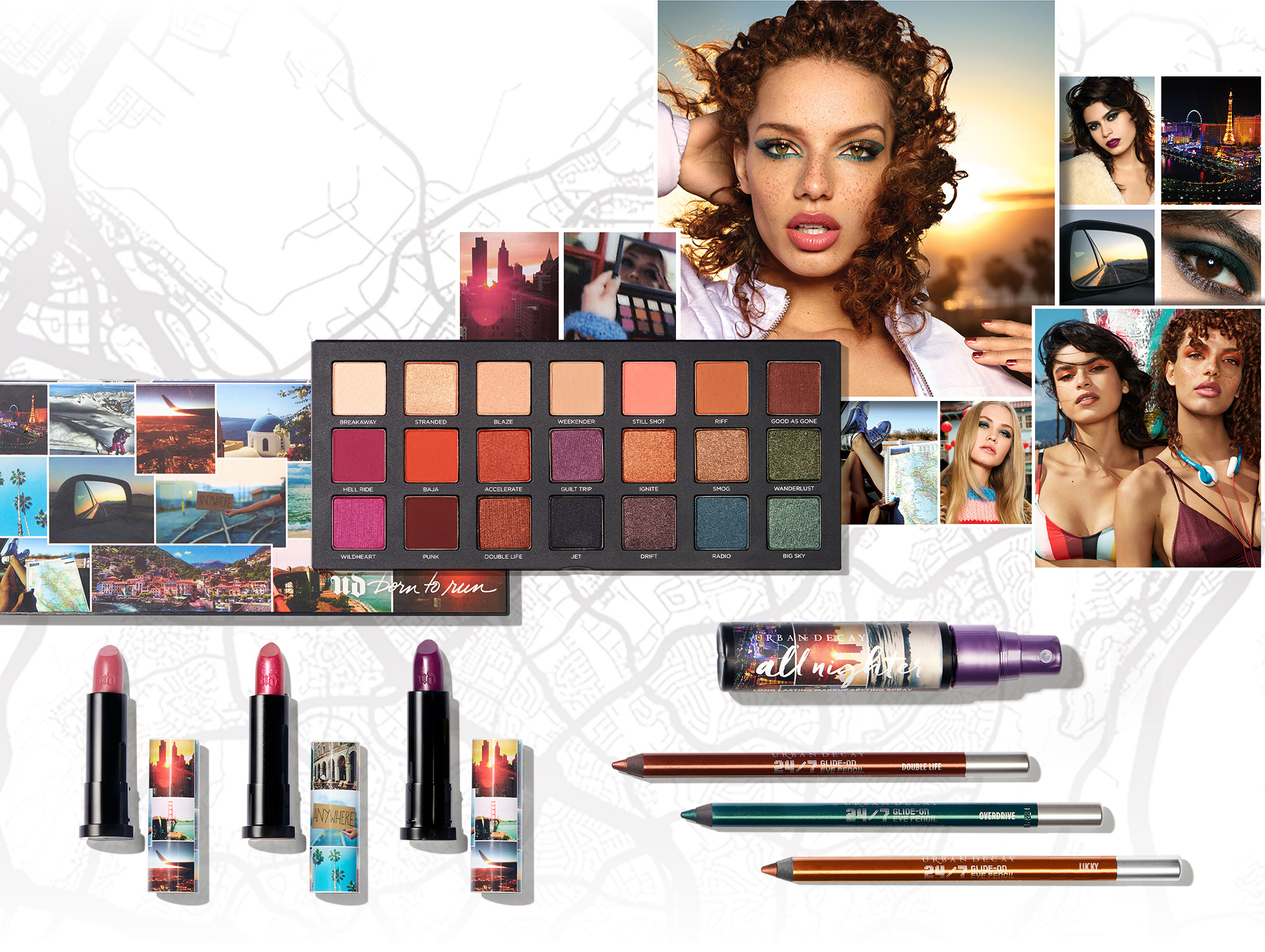 URBAN DECAY Born To Run Collection